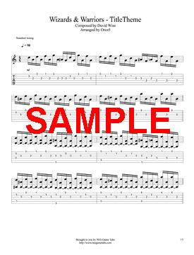 W&W - Title Theme Sample 1